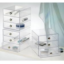 makeup organizer acrylic makeup drawers clear