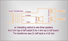 70 25 volt audio still be used on the 8 ohm output side of the transformer to limit the number of transformers used in low power situations