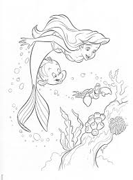 Little Mermaid Coloring Pages Gallery Me For Adults Get Coloring Page