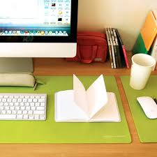 leather desk protector