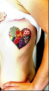53 best images about Tattoos on Pinterest | Music tattoos, Country ... & Patchwork Heart Tattoo Adamdwight.com