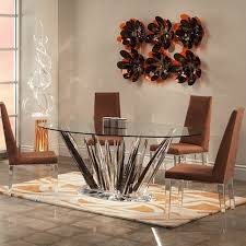 best contemporary 60 inch glass round dining table pertaining to for top designs 6