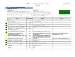 Weekly Progress Report Templates 11 Weekly Project Status Report Examples Pdf Word Examples