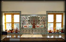 Mural Tiles For Kitchen Decor Ceramic Kitchen Tile Backsplash Ideas Design Idea and Decors 20