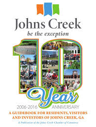 Johns Creek Guidebook