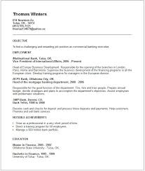 Banking Executive Sample Resume 16 Bank Examples Top 10 Objective ...