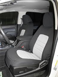chevrolet colorado seat covers wet