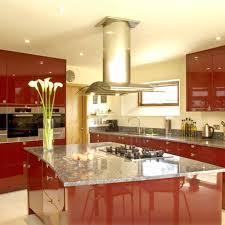 red kitchen decorating ideas kitchen colourful design