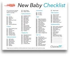A New Baby Checklist What Youll Need Baby Checklist