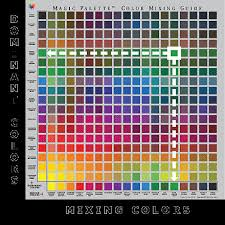 Colour Mixing Chart For Acrylic Paint Pdf 10 Veritable Color Chart For Mixing Acrylic Paint