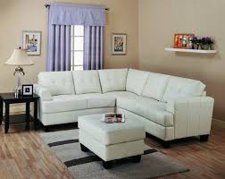 couches for small living rooms. Slim Sectional Sofa In White For Living Room A Ottoman Furniture Small Wool Area Rug Couches Rooms O