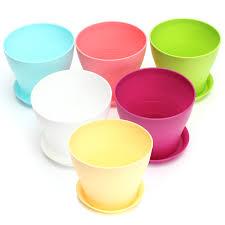 office flower pots. Glossy Font B Plastic Plant Flower Pot Office Pots N
