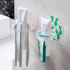 Preferred 63% OFF <b>1PC</b> Plastic <b>Toothbrush</b> Holder <b>Toothpaste</b> ...