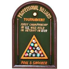 professional billiard wall art game room decor