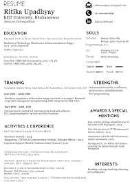 A Better Resume Resume Work Template