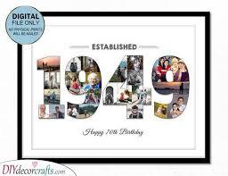 70th birthday gift ideas amazing 70th