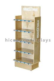 Wooden Product Display Stands Full Flooring Wooden Custom Product Display Stands For Food Display 1