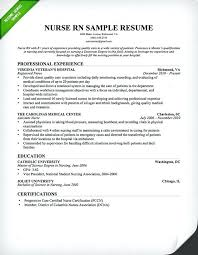 Nursing Resume Template Nursing Rn Resume Sample Free Nursing Cv ...