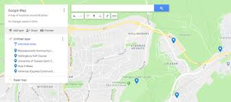 How To Pin Point Multiple Locations On Google Maps Create Net