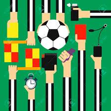 Referee Design Soccer Referee Design Flat