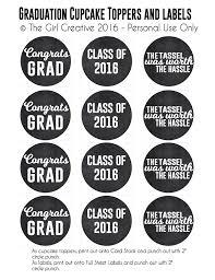 Graduation Printables The Girl Creative