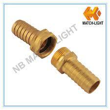 china brass female male threaded hose