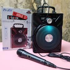 Loa bluetooth karaoke Profit P88 chính hãng KÈM MICRO CÓ DÂY RỜI [BH: 3  tháng] zxc#1vip