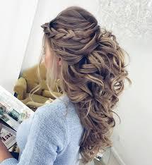 Half Up Half Down Wedding Hairstyles 24 Amazing 24 Pretty Half Up Half Down Hairstyles Partial Updo Wedding Hairstyle