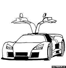 You are viewing some bugatti sketch templates click on a template to sketch over it and color it in and share with your family and friends. Supercars And Prototype Cars Online Coloring Pages