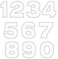 number templates 1 10 number stencils ender realtypark co
