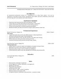 Dog Handle Resume Examples Trainer Resumes Targergoldendragonco