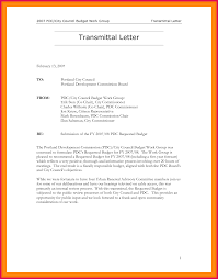 Letter Of Transmittal Example Sop Examples
