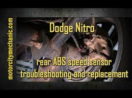 dodge nitro rear abs speed sensor troubleshooting and removal 2011 Dodge Nitro Wiring Diagram dodge nitro rear abs speed sensor troubleshooting and removal 2011 dodge nitro radio wiring diagram
