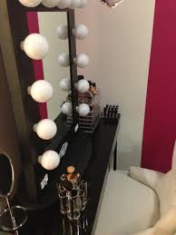 vanity dressing table with mirror and lights. wooden square in black vanity dressing table with mirror and lights s