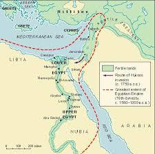 ancient egypt Egypt History Map ancient egypt, c 1650 b c egypt history podcast