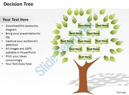 tree in powerpoint decision tree powerpoint template slide ppt images gallery