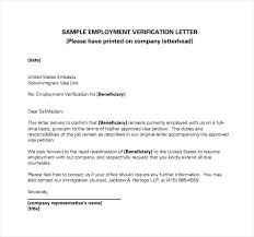 Sample Of Employment Certification Letter Related For Sample Employment Verification Letter Job Docx