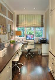 beautiful bright office. corner home office by window beautiful bright 0