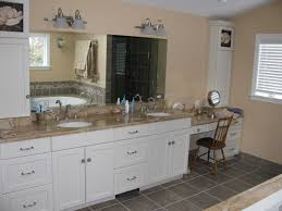 Incredible White Bathroom Cabinets With Dark Countertops Vanity Cool