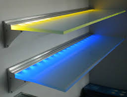 glass shelf lighting. 600mm Length RGB Shelf With Led Lights Glass Decoration Lighting S