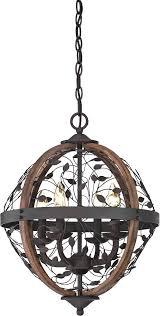 rustic metal chandeliers orb chandelier rustic wood