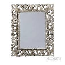 Mirrors That Will Change Your House In Decors Ornate Silver Bathroom Mirror
