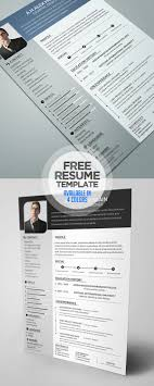 Free Colorful Resume Templates Free Resume Templates For 100 Freebies Graphic Design Junction 83