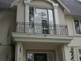 Exterior Iron Railing, Wrought Balcony Railings Designs, Railing ...