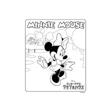 ミッキーマウスクラブハウス ミニーマウス ぬりえダウンロード