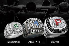 Jostens Class Ring Size Chart High School Sports Rings Varsity Collection Jostens