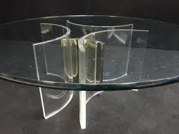 Antique Brass Glass Coffee Table Vintage Lucite Coffee Table On Square Coffee Table Awesome Modern
