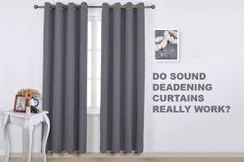 soundproof curtains do they really