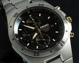 seiko watch men titanium chronograph 100m snd451 snd451p1 warranty image is loading seiko watch men titanium chronograph 100m snd451 snd451p1