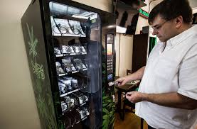 Marijuana Vending Machine Magnificent Victoria's First Pot Vending Machine Now Up And Running MJ News